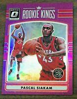 2016-17 Donruss Optic Rookie Kings Pascal Siakam Purple RC Raptors #22