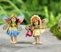 Miniature Dollhouse Fairy Garden ~ Fairytale Standing Fairies Set of 2