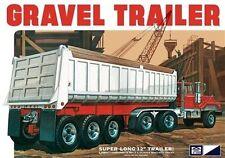 MPC Tri-axle Gravel Trailer 1/25 Model Car Mountain New! Amt