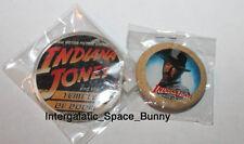 1984 Japan Fantasy Indiana Jones and the Temple of Doom Japanese Pin Set Promo