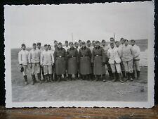 Photo argentique guerre 39 45 soldat Allemand wehrmacht WWII 2 tenue de travail