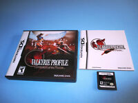 Valkyrie Profile: Covenant of the Plume (Nintendo DS) Lite DSi w/Case & Manual