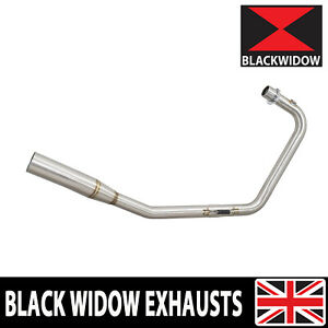 Stainless Exhaust System Downpipes Headers Fits Lexmoto Venom 125 / Viper 125