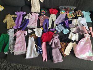 LARGE BUNDLE 50+ BARBIE CINDY DOLLS CLOTHES DRESSES SHOES BOOTS ACCESSORIES ETC