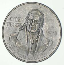 SILVER - WORLD COIN - 1978 Mexico 100 Pesos - World Silver Coin *881