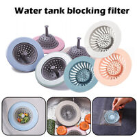 Bath Drain Shower Tub Strainer Cover Basin Stopper T4J6 Silicone Fi R8K9