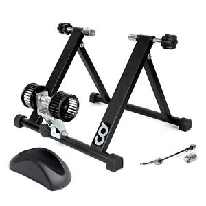 Bicycle Bike Indoor Home Exercise Wind Resistance Trainer with Block Riser