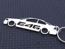 BMW E46 schlüsselanhänger COUPE M3 M POWER LED 325 328 330 DRIFT CSL BBS emblem