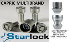 Ford Fusion Kit Bulloni Antifurto Starlock Farad per Cerchi in Acciaio Originali