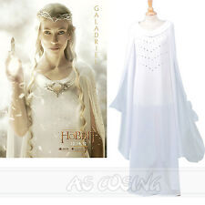 Lord of the Rings The Hobbit Galadriel Lady Cosplay Costume Custom Made