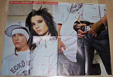 Tokio Hotel Bill & Tom Mega Poster 1,18m