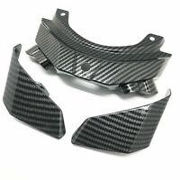 Carbon Fiber Rear Tail Fairing Wing Panel Kit For Yamaha FZ-10 MT-10 2016-2019