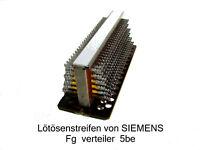 Lötösenstreifen von SIEMENS Sammeln & Seltenes Technik & Geräte Eisenbahn Modell