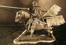 Lead soldier toy,Polish Hussars ,on the horse,collectable,rare,gift,detaile