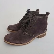 Women's Timberland Earthkeepers Brown Suede Ankle Boots Size 9 US Casual Bootie