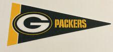 "*New* Nfl Green Bay Packers Mini Pennant Flag 4""x9"" Football Decor"