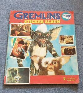 GREMLINS 1984 PANINI STICKER ALBUM INCOMPLETE 3 MISSING STICKERS