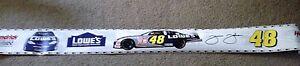 NASCAR  #48 Jimmie Johnson Lowes Monte Carlo Hendricks Springs Wall Border 6x