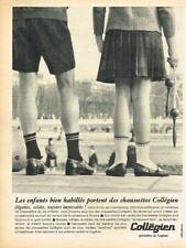 K- Publicité Advertising 1965 Les Chaussettes pour enfants Collégien