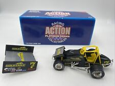 RACING ACTION PLATINUM SERIES SPRINT CAR 1/24 JEFF SWINDELL #7 GOLD EAGLE