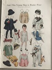 And This Young Man Is Brother Peter Vintage Paperdoll From Magazine 1920