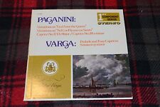Paganini: Variations on God Save The Queen~Varga: Prelude & Four Caprices