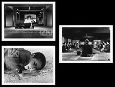 LA CEREMONIE Gishiki 3 Photos Cinéma Japonais OSHIMA Karawasaki Kaku Otowa 1971