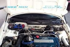 94-01 Acura Integra DC2 Silver Carbon Strut Lift Hood Shock Stainless Damper