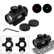 1X40Rd Holographic Reflex Green Red Illuminated Dot Sight Scope Mount