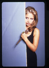 Buffy The Vampire Slayer Sarah Michelle Gellar portrait with dagger Transparency