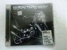 Lady Gaga Born This Way BTW CD 2011 RARE INDIA INDIAN HOLOGRAM NEW sticker