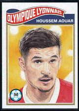 Houssem Aouar 2020 Topps Living Set UEFA Champions League #139