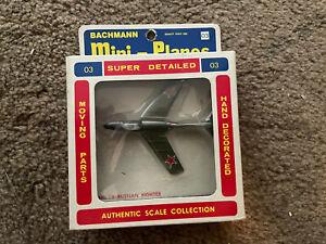 Bachmann Mini-Planes #8303:69 Russian MIG-21C Aircraft w/original box #03