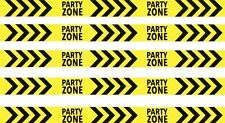 20M Construction Plastic Warning Caution Banner Party Zone Tape DecorationRibbon