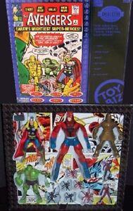 Marvel Collector Editions Original Avengers Figure Box set