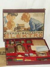 Alter Kosmos Elektromann Elektro Baukasten Elektronik Elektrokasten Röhren 1941