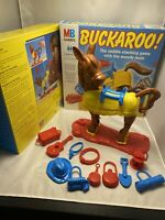 BUCKAROO GAME MB GAMES 1996 100% Fantastic Condition COMPLETE & WORKING