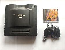 Neo Geo CD Console Konsole + Power Supply + AV Cable + KoF 94 + Controller