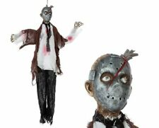 Mask Murderer Prop - Hanging Decoration for Halloween Party - 80x90cm