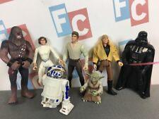 Kenner Star Wars POTF Figures Chewbacca R2-D2 Yoda Luke Han Darth Leia Set Lot