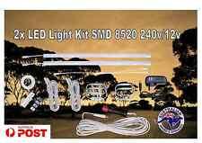 LED light kit 2 x 50cm 8520 Dimmer switch 240v/12v Camping Caravan Offroad