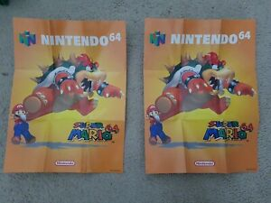 N64 Super Mario 64 / Gameboy Poster (P(NAL)NUS-AUS)