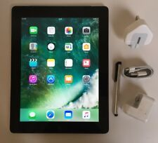 Excellent Apple iPad 4th Generation 32GB, Wi-Fi + Cell (Unlocked), 9.7in - Black