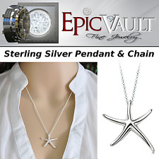 EPIC Sterling Silver Starfish Pendant & Chain