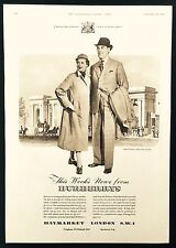 BURBERRYS -  Vintage Magazine Advert (19 September 1953) Fashion, Clothing *
