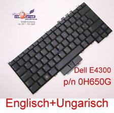KEYBOARD TASTATUR DELL LATITUDE E4300 NSK-DG10Q 0H650G ENGLISH HUNGARY MAGYAR 14