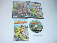 SHREK SUPERSLAM game complete in case w/ Manual for Sony Playstation 2 PS2