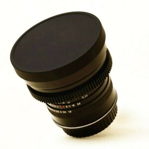 80mm slip-on LENS CAP (push-on rubberlike lens cap for cine ring, OD 80mm Ring)