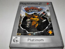 Ratchet and Clank PS2 (Platinum) PAL *Complete*