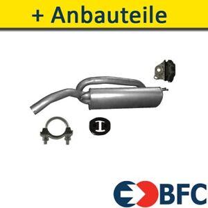 Endtopf Auspuff+ für FIAT BRAVO II FLIEßHECK 1.4 120-140-150PS 2007-